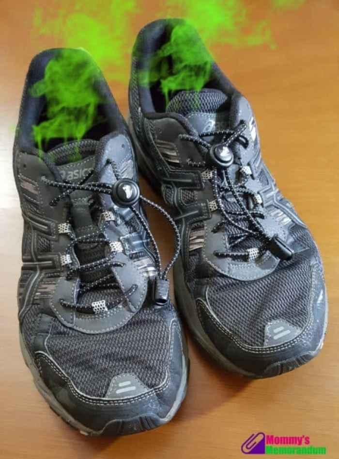 shoes before trinova foot spray