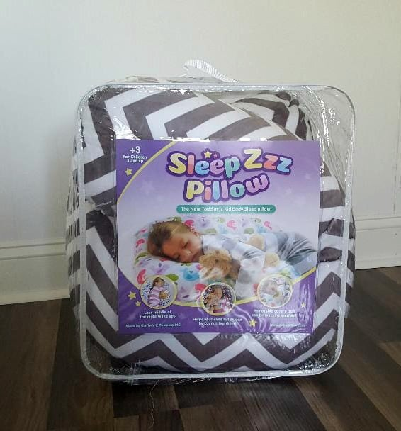 sleep zzz pillow in package