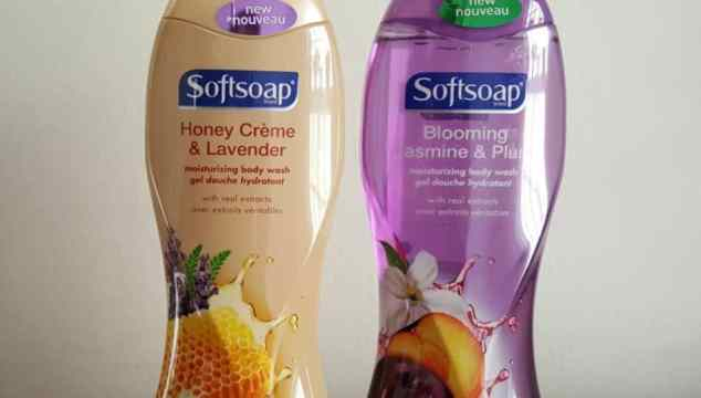 Limited Edition Softsoap Blooming Jamsine & Plum and Honey Creme & Lavender