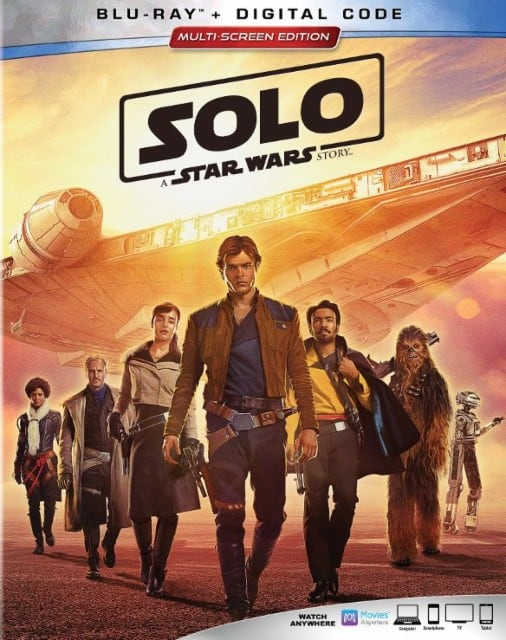 solo a star wars movie on bluray