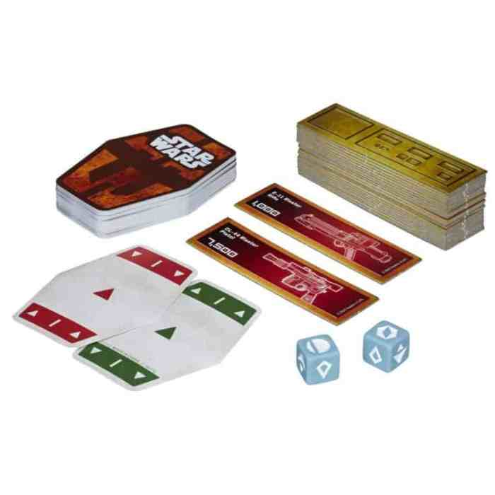 star wars card game Solo: A Star Wars Story Movie and Hasbro Game Night