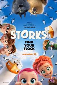 storks the movie poster