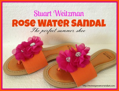 stuart weitzman rose water sandal