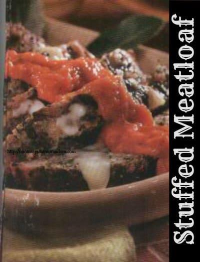 stuffed meatloaf recipe