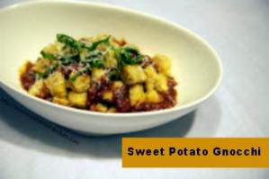 Recipe: Sweet Potato Gnocchi