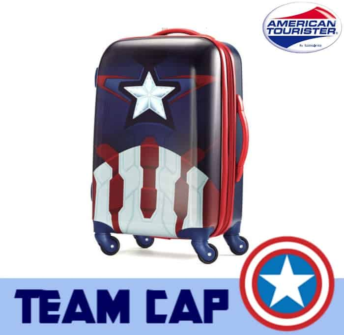 team cap luggage