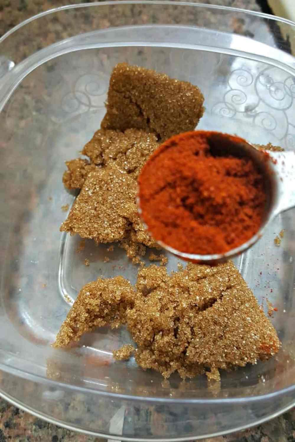 terras kitchen adding chili powder