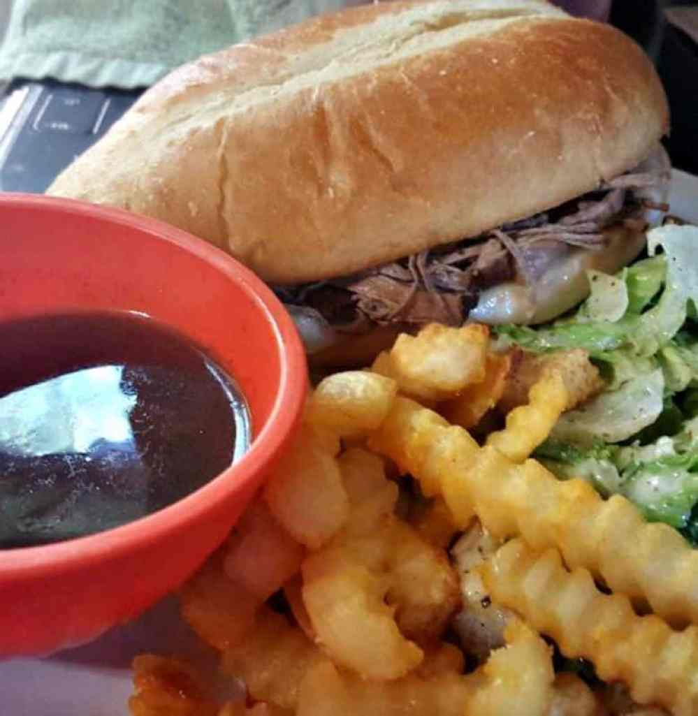 the best instant pot french dip sandwich recipe finished
