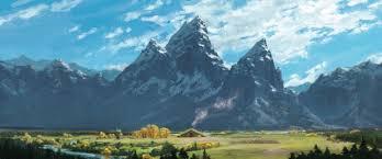 the good dino landscape