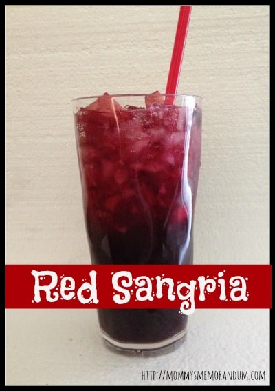 the red sangria