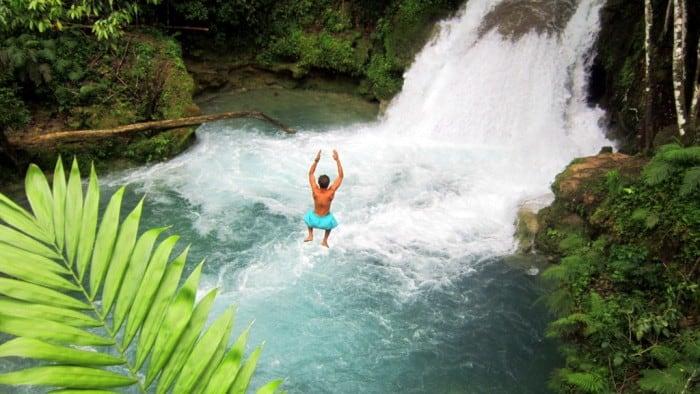 top 5 carribbean family-friendly destinations blue hole in ocho rios