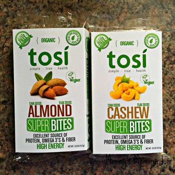 tosi superbites almonds cashews