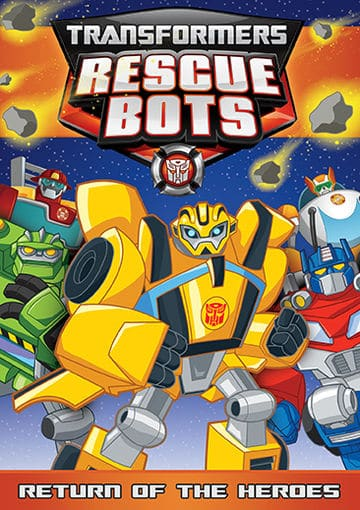 transformers rescue bots Return of the heroes