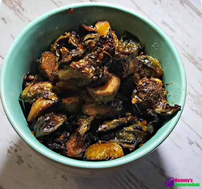 umami brussel sprouts recipe