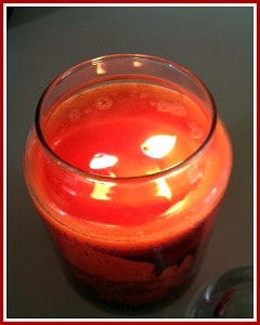 village candle two wicks