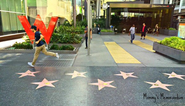 w hollywood hotel walk of fame