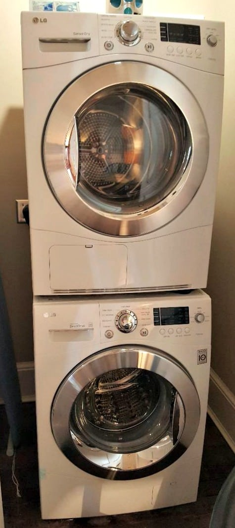 windsor boutique hotel lg washer and dryer