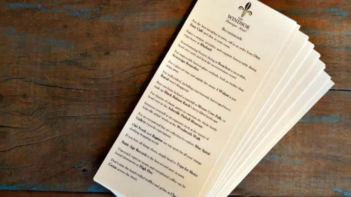 windsor boutique hotel things to do