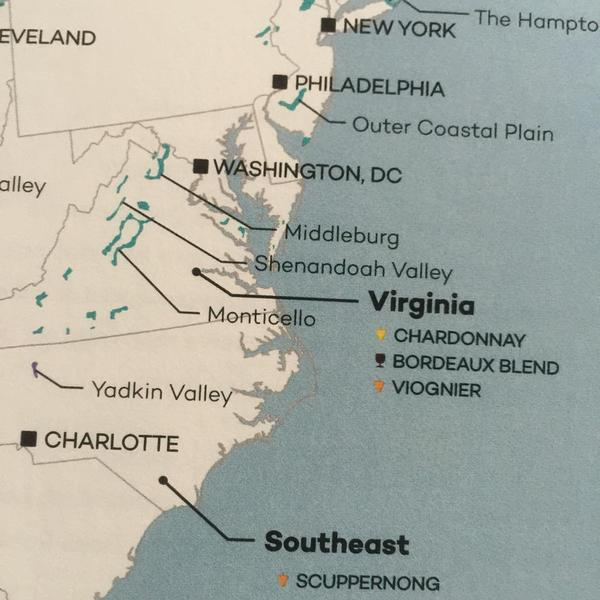 According to #winefollybook my state of Virginia has some tempting options for wine!