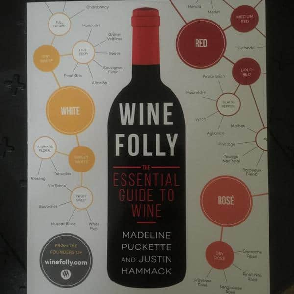 This book and a bottle of wine make a great hostess gift...or Sunday evening pairing! #winefollybook