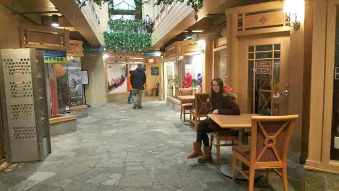 wintergreen mountain inn shopping area