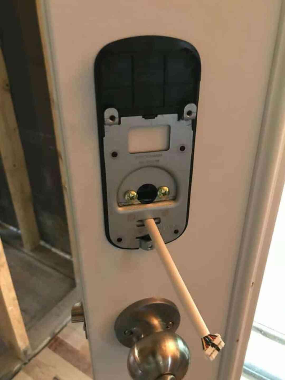yale smart lock installation