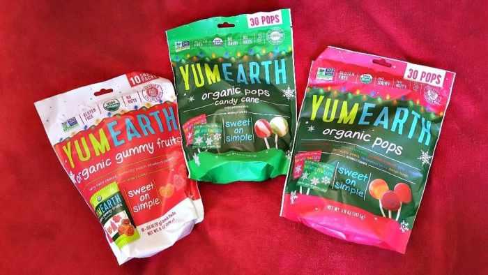 yumearth organic holiday treats