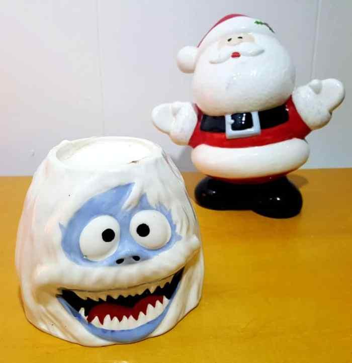 zak designs abominable snowman sculpted ceramic mug
