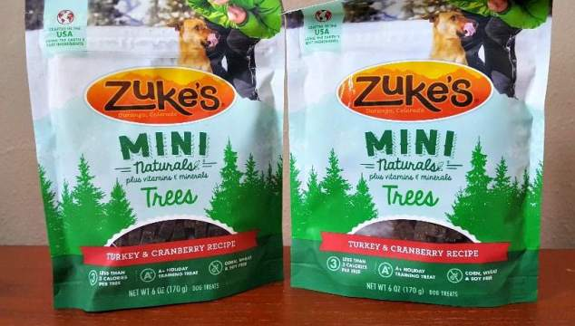 All Tails Wag for Zuke's Mouth-Watering Turkey & Cranberry Recipe Mini Trees
