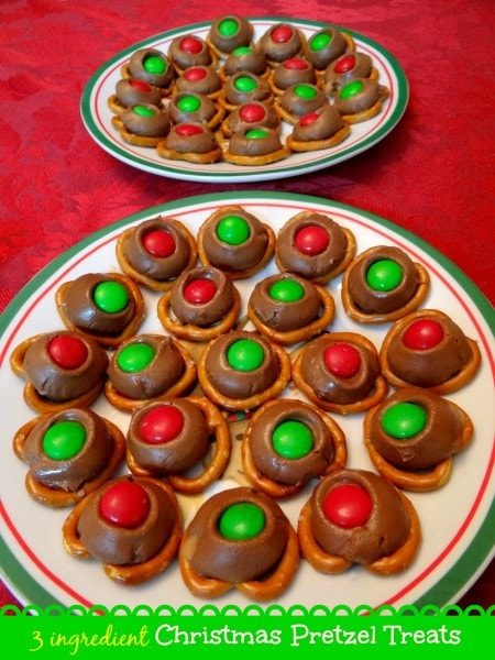3 Ingredient Christmas Pretzel Treats Recipe Mommy