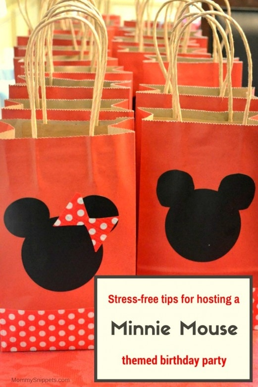 Stress Free Tips For Hosting A Minnie Mouse Themed Birthday Party