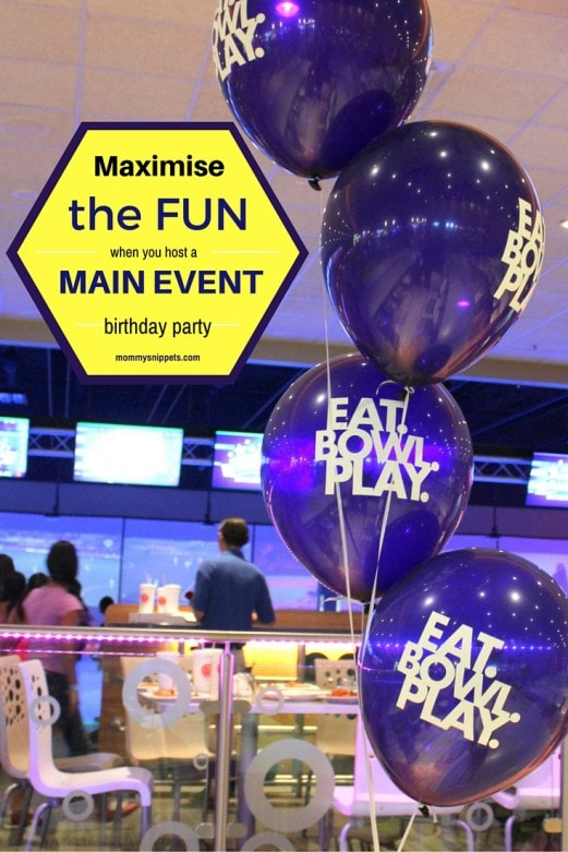 Maximise The Fun When You Host A Main Event Birthday Party