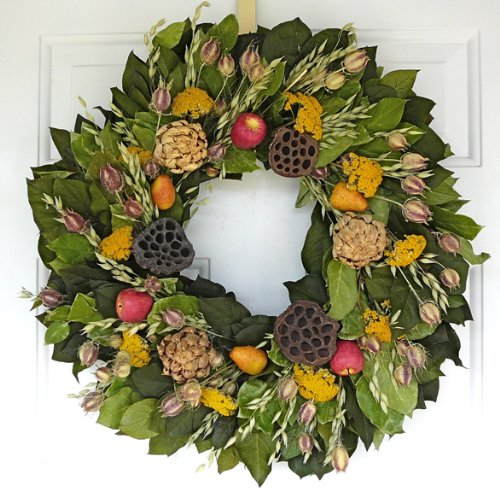 Autumn Orchard Dried Wreath