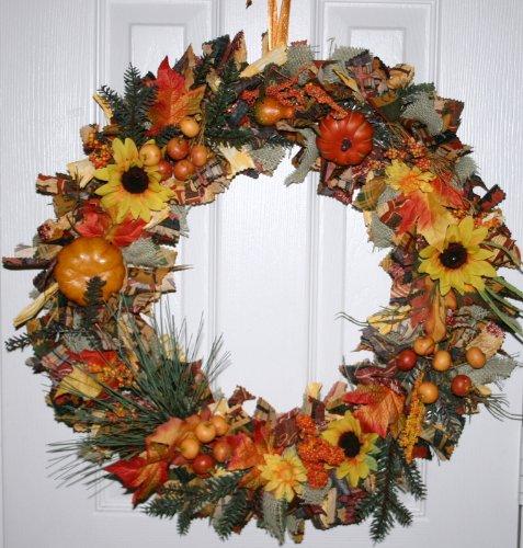 Autumn Splendor Fall Wreath