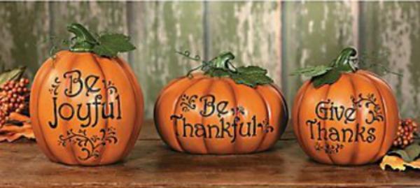 Carved Pumpkin Set 2