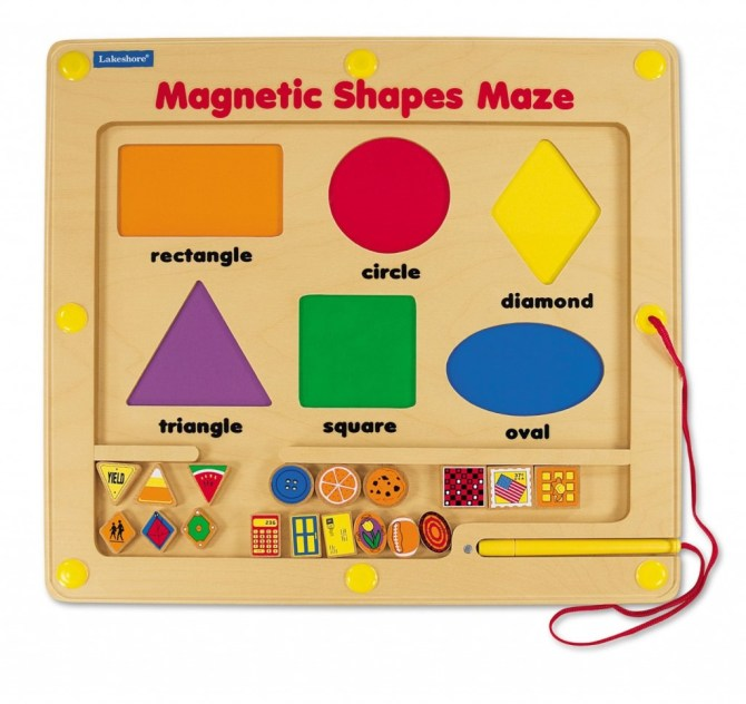 Super Shapes Magnetic Maze
