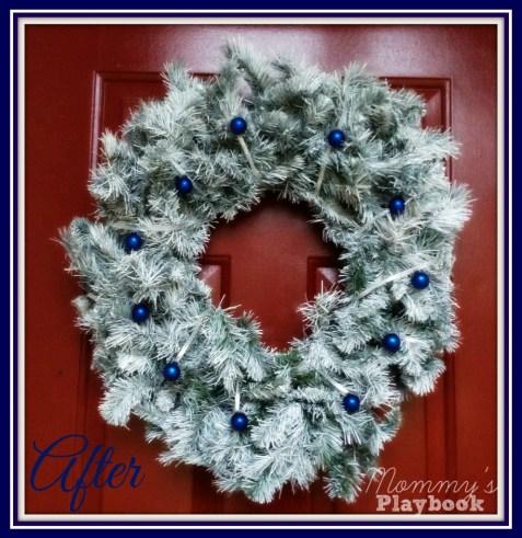 Upcycled Wreath