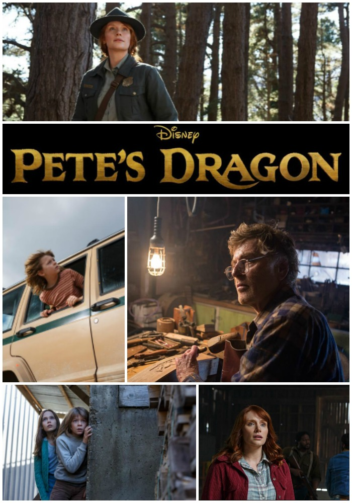 New Look at Pete's Dragon 2016