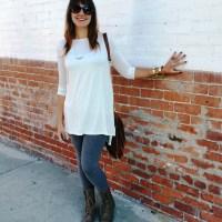 Thanksgiving Tunic Outfit l WWW.MOMMYSTYLIST.COM @MommyStylistBlog @TheMommyStylist