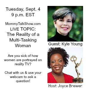 LIVE: Watch @MommyTalkShow & @Mulit-Tasking Talk Reality Shows, Women & Voting