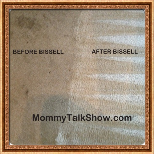 Before and After Photos: Bissell Big Green Deep Clean Machine