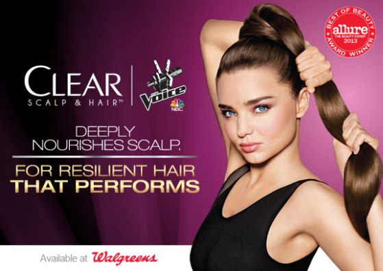 Free Song Downloads with Clear Scalp & Hair at Walgreens