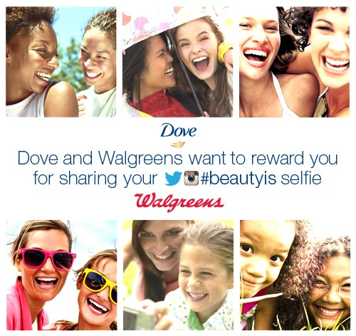 Walgreens and Dove Want You to Share Your Real Beauty