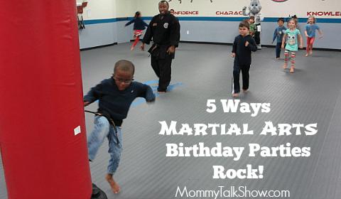 5 Ways Martial Arts Birthday Parties Rock!