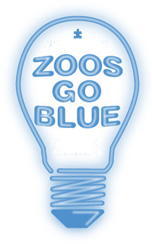 Zoo Goes Blue