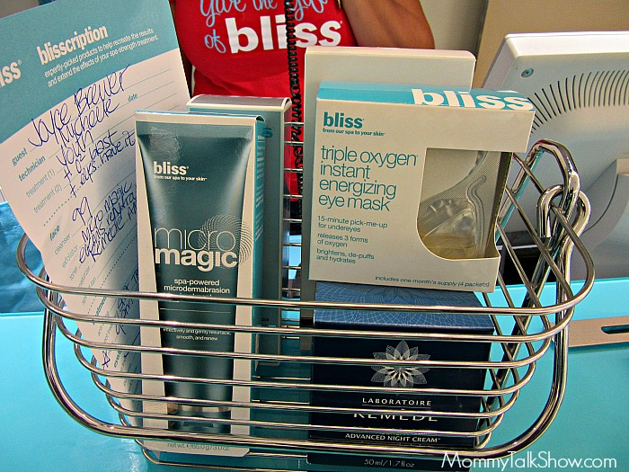 Bliss Spa Products
