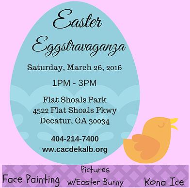 Easter Eggstravaganza Decatur