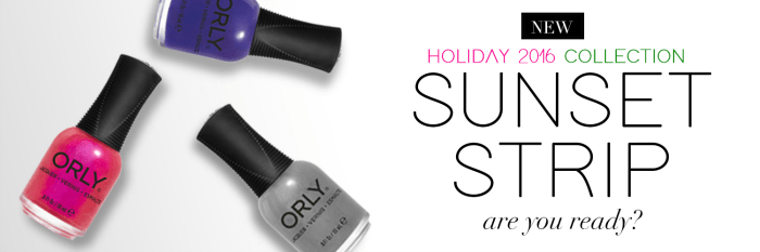 holiday 2016 sunset strip collection
