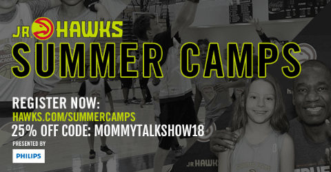 Atlanta Jr. Hawks Basketball Camp Giveaway + Savings Code to Register