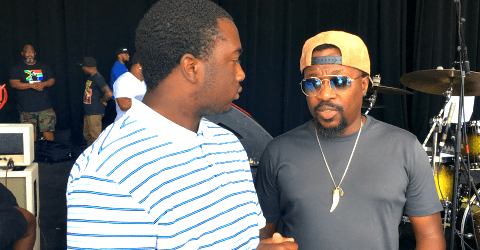 Soul Singer Anthony Hamilton Gave Atlanta Children Behind The Scenes Look at Music Industry
